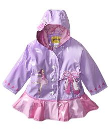Kidorable Ballerina Raincoat - Purple
