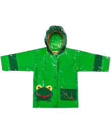 Kidorable Frog Raincoat - Green