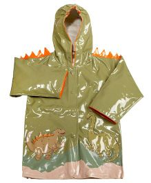 Kidorable Dinosaur Raincoat - Green