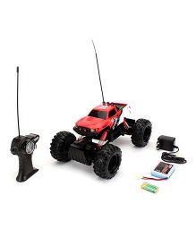 Maisto Remote Controlled Rock Crawler - Red