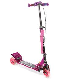 Three Wheel Scooter With Bell Pink - JP-L6306VS