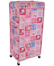 New Natraj Children Toy Box Kitty Print - Pink