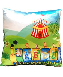 Surbhi Kids Cushion Alphabet Print - Multi Colour