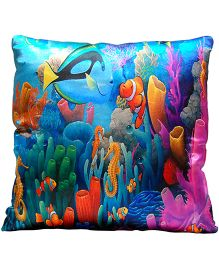 Surbhi Kids Cushion Finding Nemo Print - Multi Colour