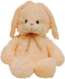 Surbhi Sitting Bunny Soft Toy Peach - 55 cm