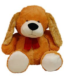 Surbhi Huggable Doggy Soft Toy Brown - Length 105 cm