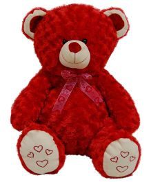Surbhi Teddy Bear Soft Toy Dark Red - Height 80 cm