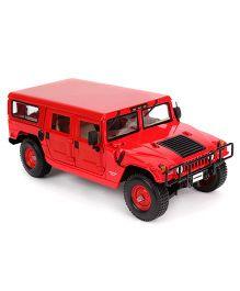 Maisto Hummer 4 Door Wagon Diecast Vehicle - Red