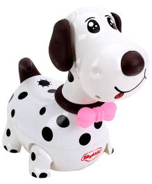 Mitashi SkyKidz Dashing Dalmatian Musical Toy - White