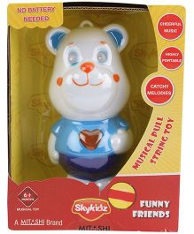 Mitashi SkyKidz Funny Friends Musical Toy - Blue and White