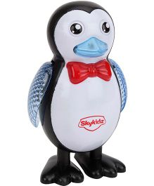Mitashi SkyKidz Feathered Friends Musical Toy Puffling - Black and White