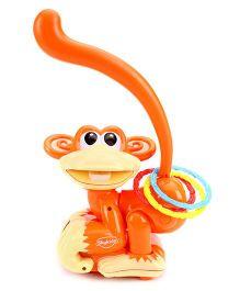 Mitashi SkyKidz Ring-o-Monkey Musical Toy - Orange