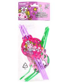 Riethmuller Drinking Straws Fairy Print - 8 Pieces