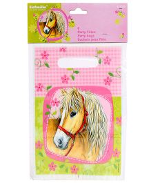 Riethmuller Loot Bags Horse Print - 6 Pieces