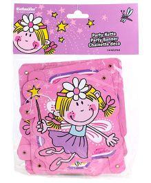 Riethmuller Happy Birthday Fairy Print Banner - Pink