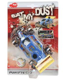 Dickie Eat My Dust Pump and Go - Blue