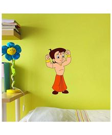 Chhota Bheem Muscles Decal Multi Color - Small