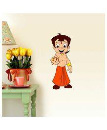 Chhota Bheem Laddoo Decal Multi Color - Small