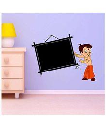 Chhota Bheem Frame Chalkboard Decal Multi Color - Large