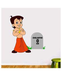 Chhota Bheem Dholakpur Milestone Multicolor - Medium