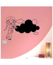 Chutki Cloud Chalkboard Black - Large