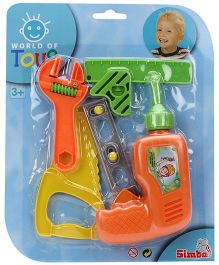 Simba World Of Toys Building Technician Play Set - Orange