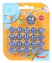 Simba Be Fun Marbles Blue - 21 Pieces