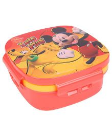 Disney Mickey Mouse And Friends Lunch Box - Red