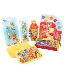 Winnie the Pooh School Kit Winnie The Pooh Yellow - Set Of 6