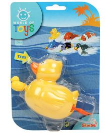 Simba World Of Toys Pull String Duck - Yellow