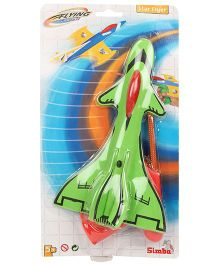 Simba Flying Zone Star Flyer With Gun Starter -Green