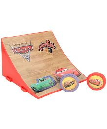 Dickie Disney Pixar Cars Wheelies Jump Ramp - Pack Of 2