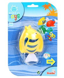 Simba World of Toys Wind Up Swimming Animals - Yellow