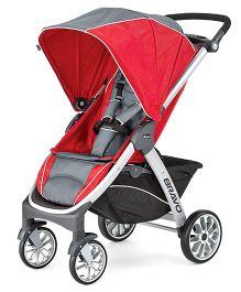 Chicco Bravo Stroller USA - Red