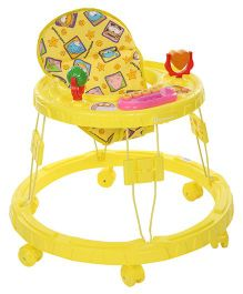 Mothertouch Chikoo Round Walker DX Yellow - CRWDXY