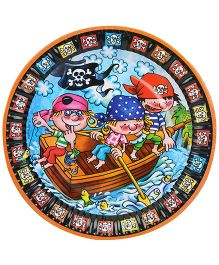 Riethmuller Paper Plates Pirates Theme - 8 Pieces