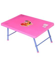 Mothertouch Junior Table Puppy Print Pink - JTP