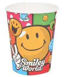 Riethmuller Party Cups Smiley Print - 8 Pieces