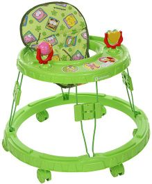 Mothertouch Chikoo Round Walker Green - CRWG