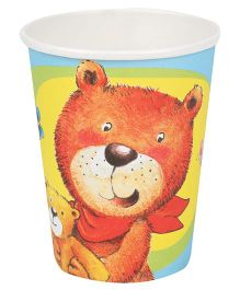 Riethmuller Party Cups Teddy Print - 8 Pieces