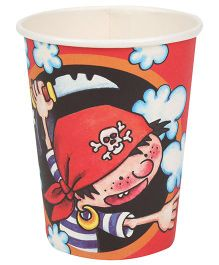 Riethmuller Party Cups Pirates Theme - 8 Pieces