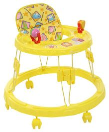 Mothertouch Chikoo Round Walker Yellow - CRWY