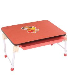 Mothertouch Mini Table Doggy Graphic - Red