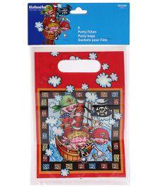 Riethmuller Loot bag Pirate Print Pack Of 6 - Multi Color