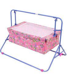 Mothertouch Wonder Cradle Bear Print Pink - WCP