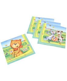 Riethmuller Teddy & Friends Design Napkin - 20 Pieces