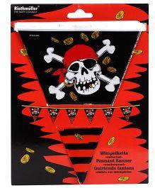 Riethmuller Jolly Roger Pennat Banner - Multi Color
