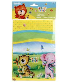 Riethmuller Teddy & Friends Table Cover Nappe - Multi Color