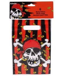 Riethmuller Jolly Roger Party Bags Pack - 6