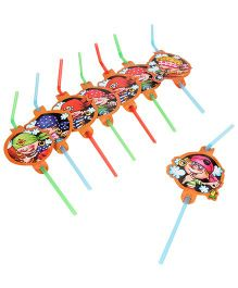 Riethmuller Pirates Party Straws -  Set of  8 Pieces